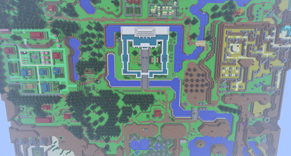 Minecraft - The Legend of Zelda: A Link to the Past - Frigolit.net